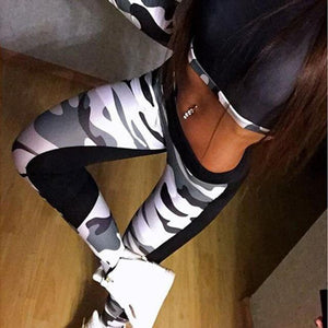 High Quality Women Leggings High Elastic Skinny Camouflage Legging Spring 2018 neweavengifts-eavengifts