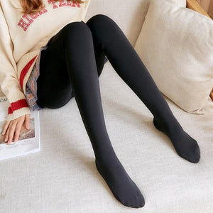 Winter Leggings Outfit Cold Weather Women Thicken Warm Plus Velvet Soft Perfecteavengifts-eavengifts
