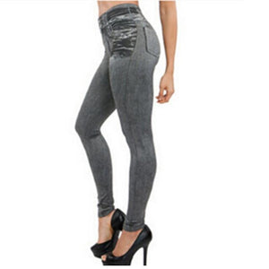 Hot Jeans for Women Denim Pants with Pocket Pull Cashmere Body Imitationeavengifts-eavengifts