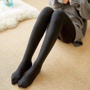 A639 Combed Cotton Vertical Lap Hairy Legging Autumn Winter Slim Was Thineavengifts-eavengifts