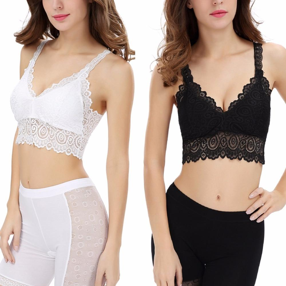 Women Sling Lace Camisole Vest Backless V-Neck Slim Sexy Tank Tops White/Blackeavengifts-eavengifts
