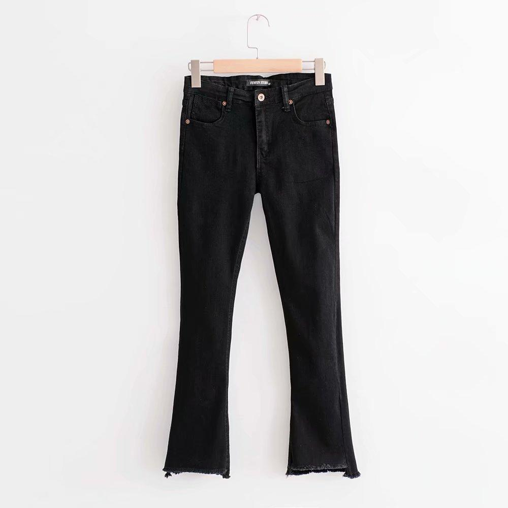 Jenny&Dave jeans woman ankle-length pants button fly jeans women plus sizeeavengifts-eavengifts