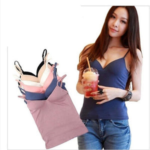 Fashion Style V Neck Tanks For Women Slim Modal 6 Colors Springeavengifts-eavengifts