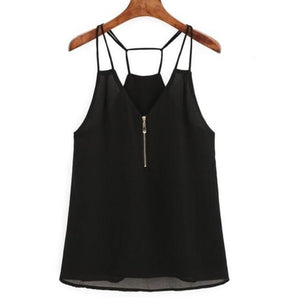 2018 Plus Size 5XL Tank Top for Women Tops Sexy Backless Summereavengifts-eavengifts
