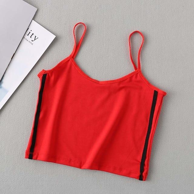 New Women Sexy Short Vest Fashion Women Camisole Crop Tops Summer Femaleeavengifts-eavengifts
