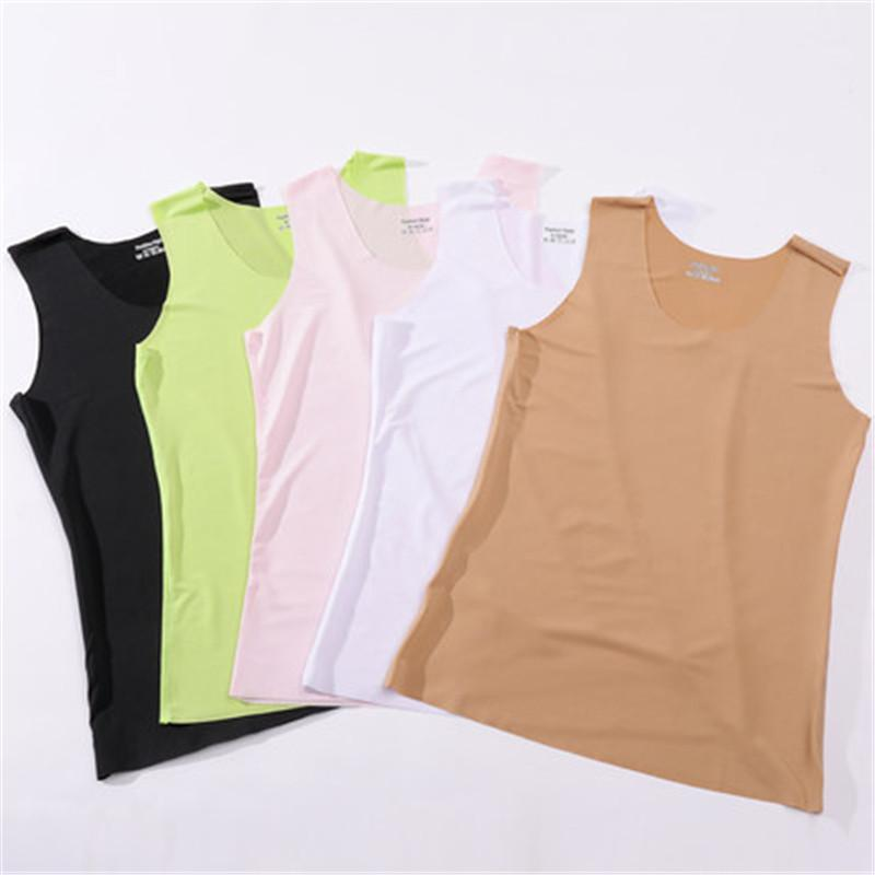 Seamless vest ladies strap summer thin section ride ladies bottoming shirt outereavengifts-eavengifts