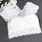 1 PC New Fashion Women's Sexy Lace Tank Tops Black/White Bustier Braeavengifts-eavengifts