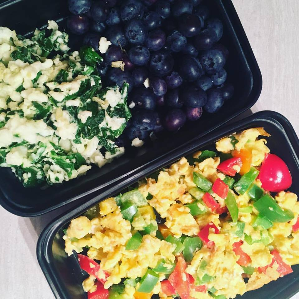 Lumberjack Scrambled Eggs & Vegetables, GF, K