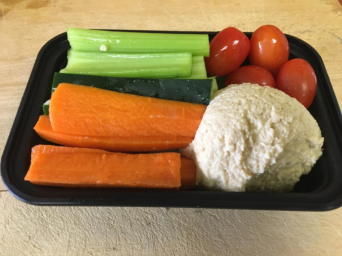Pumpkin Hummus & Vegetables