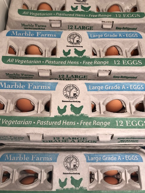 One Dozen Free Range Eggs