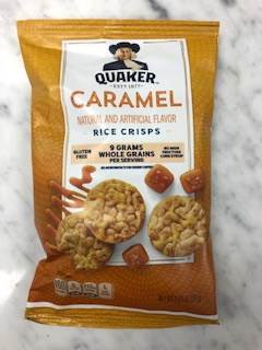 Quaker Rice Snacks, Caramel Corn