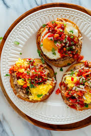 English Muffin Tostadas