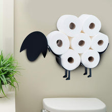 "Load image into Gallery viewer, Metal ""Sheep"" Toilet Roll Holder"
