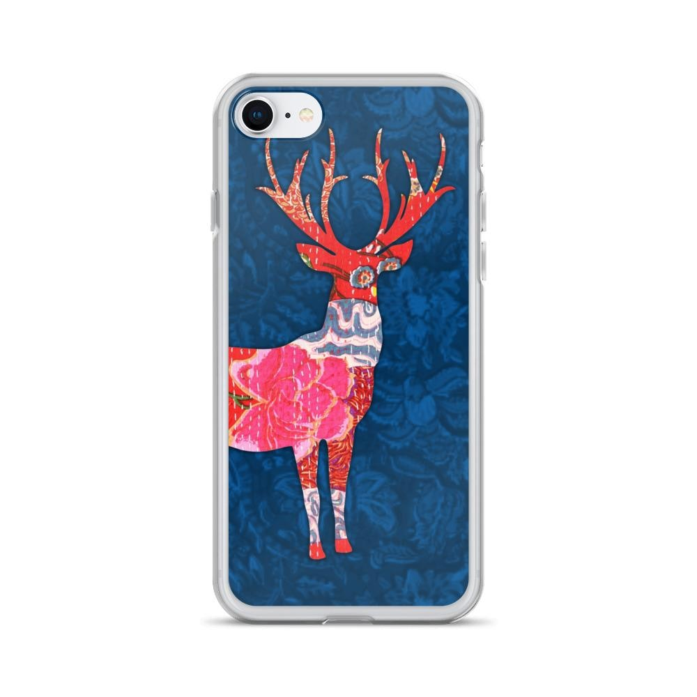 Deer Head Antler iPhone Cover | For iPhone 6,6S, 7,7Plus & iPhone X Users - TheVirasat - Home Furnishings Textile Exporter