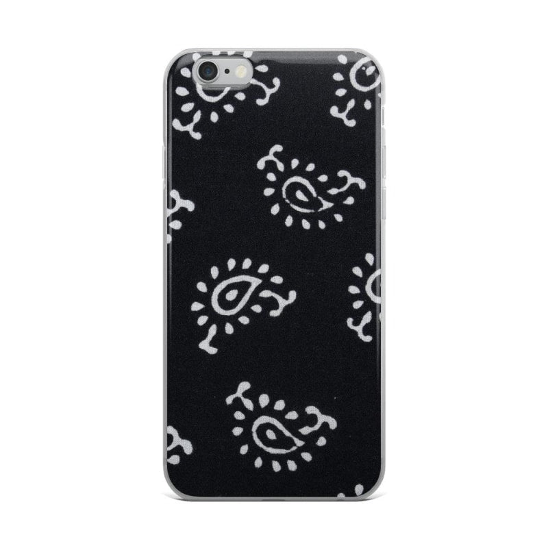Black and White Self Design iPhone Case