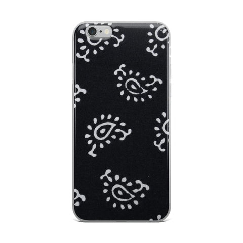 Buy Black and White iPhone Case & Cover Online - TheVirasat - Home Furnishings Textile Exporter