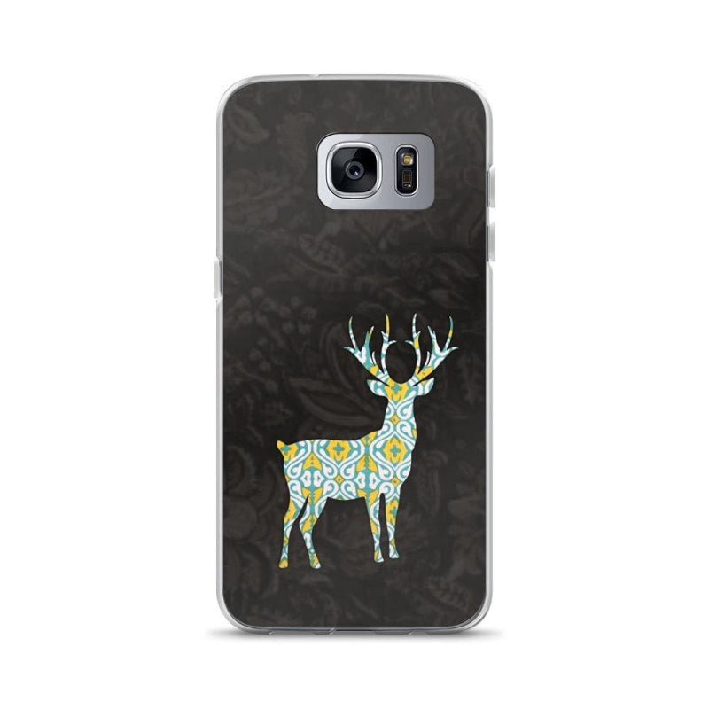 Buy Deer Black Colored Samsung Case & Cover Online - TheVirasat - Home Furnishings Textile Exporter