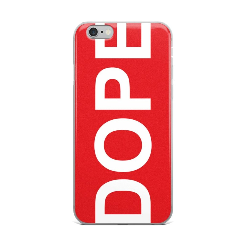 Dope Red Colored iPhone Case