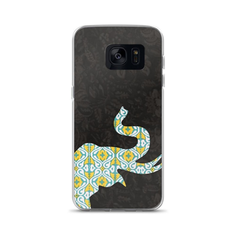 Elephant Samsung Case, Sleek Samsung Case - TheVirasat - Home Furnishings Textile Exporter