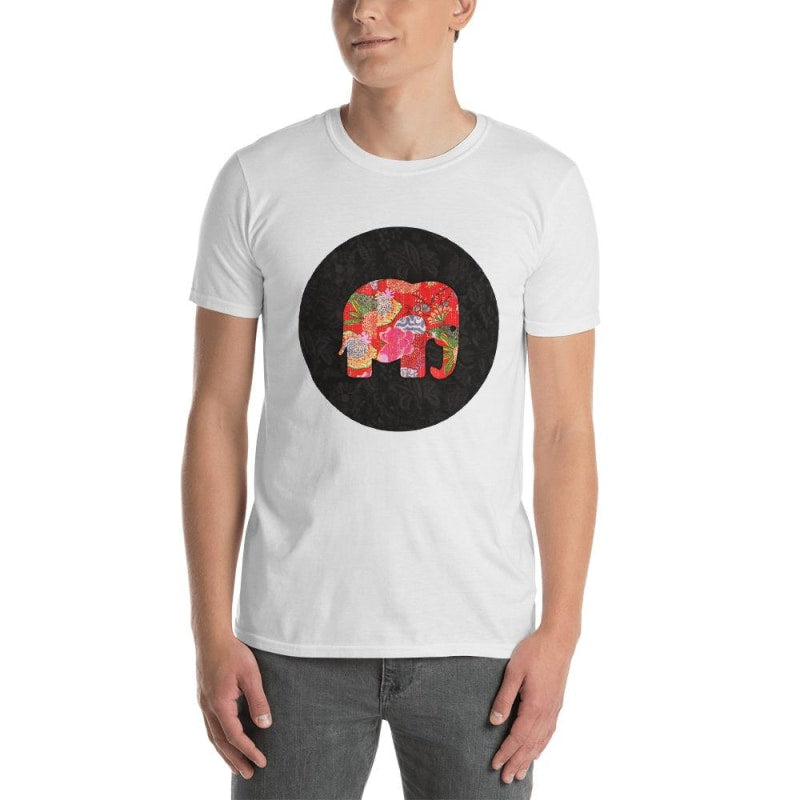 Elephant Short-Sleeve Unisex T-Shirt - Printed - S