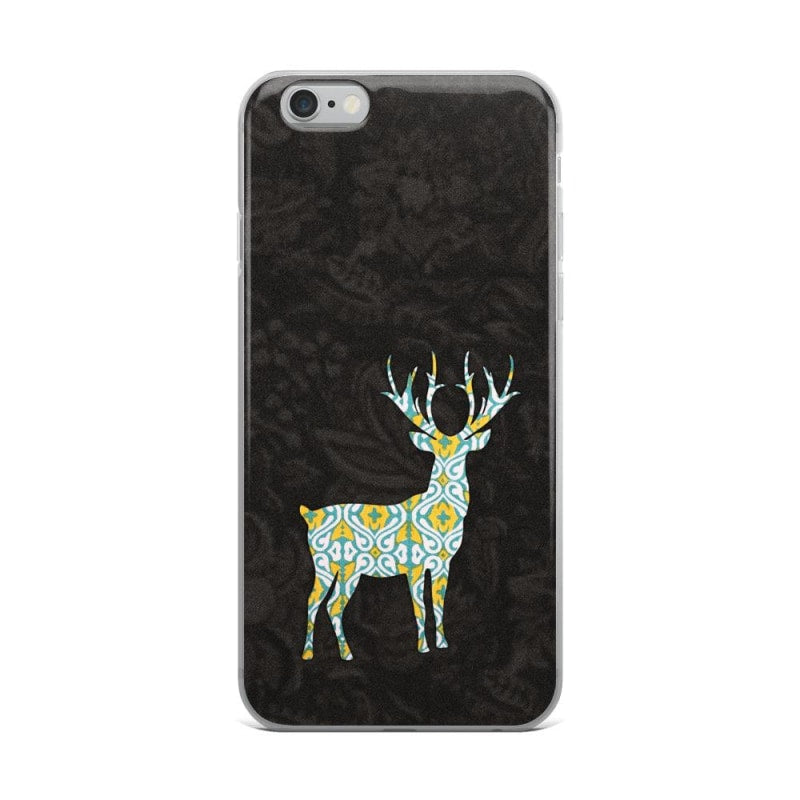 Exclusive Deer iPhone Case | Solid Black Back iPhone Case - TheVirasat - Home Furnishings Textile Exporter