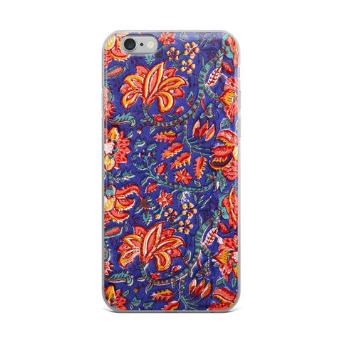 Fabric Print iPhone Case