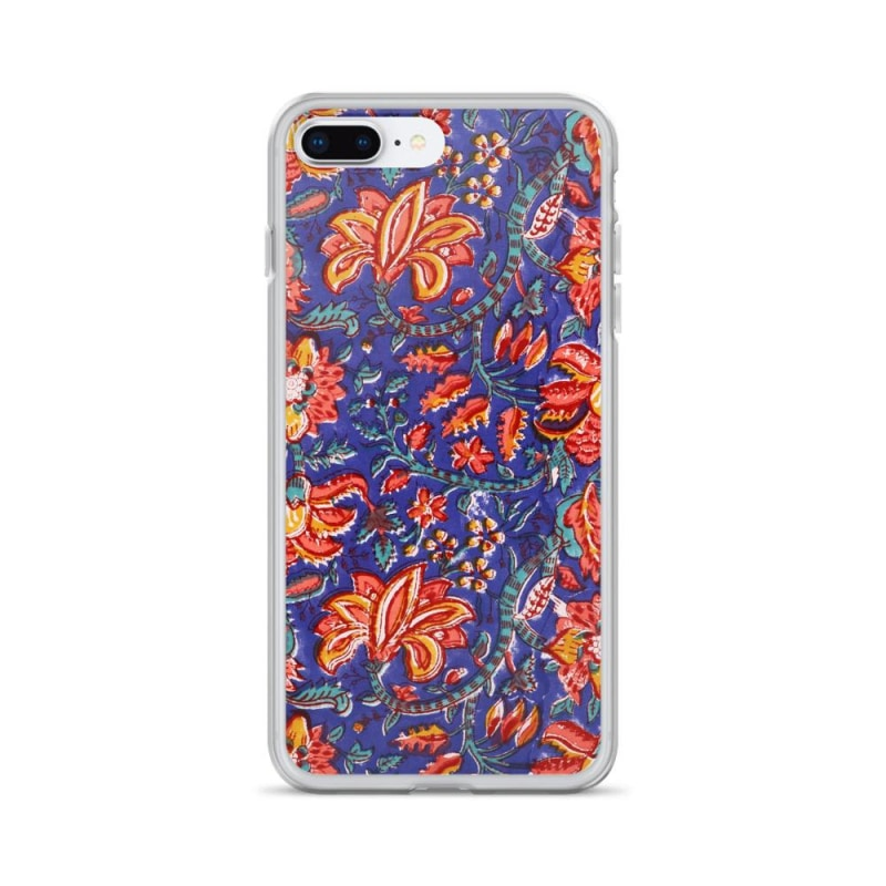 Fabric Print iPhone Case, Floral iPhone Case - TheVirasat - Home Furnishings Textile Exporter