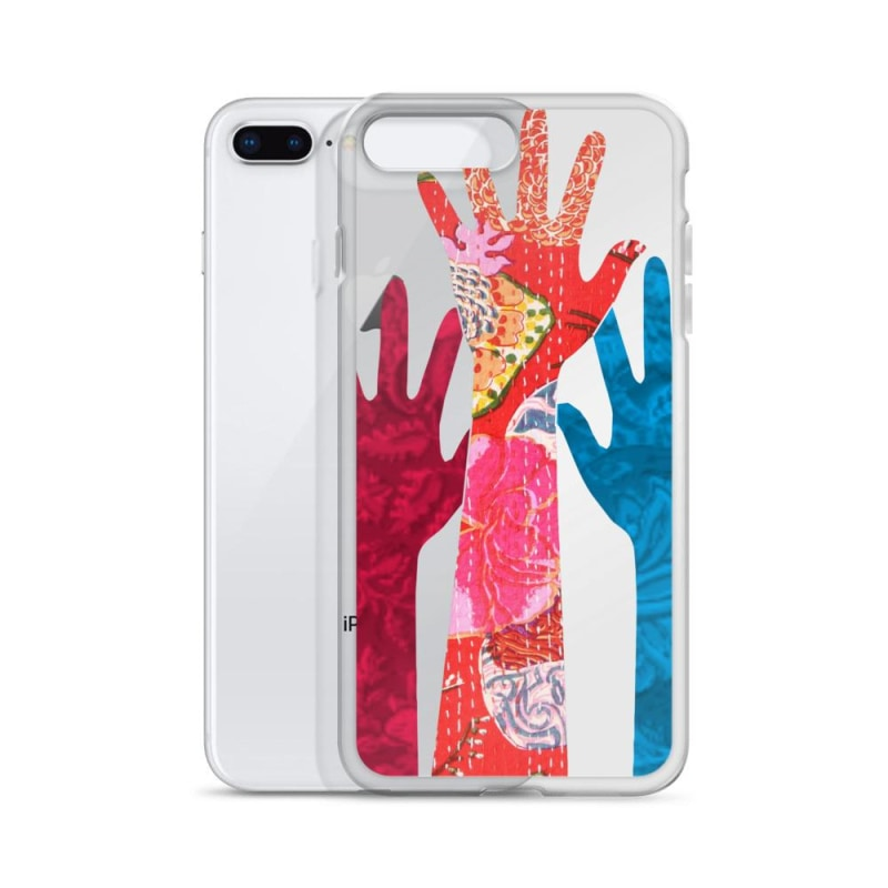 Hands iPhone Case - TheVirasat - Home Furnishings Textile Exporter