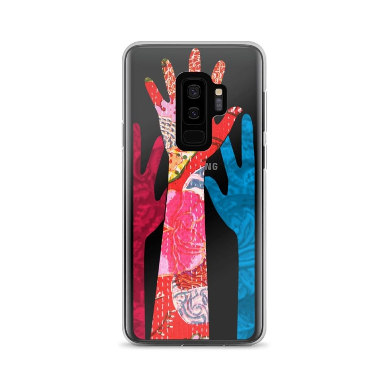 Solid Black Hands Samsung Cover Buy Online - TheVirasat - Home Furnishings Textile Exporter