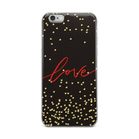 Love Solid Back iPhone Case & Covers - TheVirasat - Home Furnishings Textile Exporter