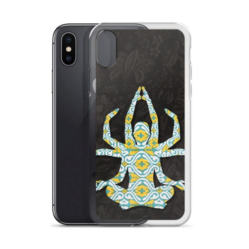 iPhone Case, Yoga Goddess iPhone Case - TheVirasat - Home Furnishings Textile Exporter