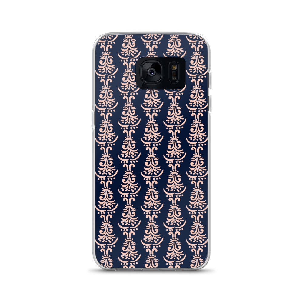 Pink Motifs Samsung Case | Buy Online - TheVirasat - Home Furnishings Textile Exporter