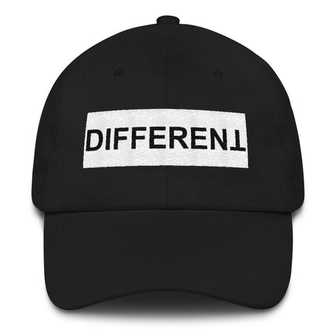 Different Dad hat, Different cap