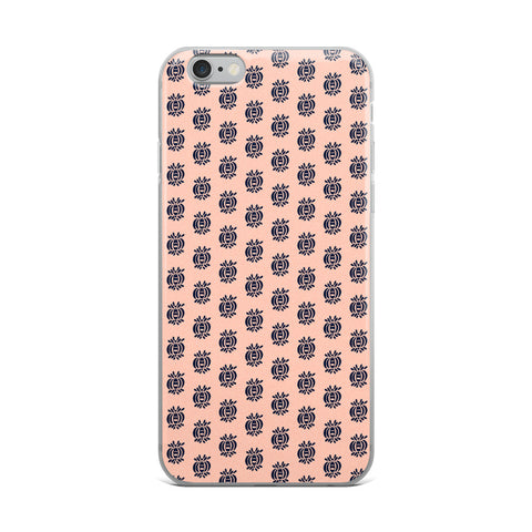 Blue Motifs iPhone 6,7,8 Case & Cover - TheVirasat - Home Furnishings Textile Exporter