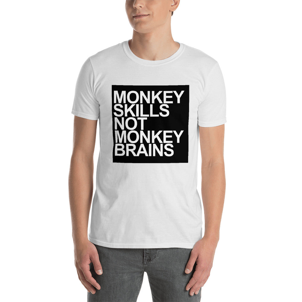 Monkey Skills Short-Sleeve Unisex T-Shirt - TheVirasat - Home Furnishings Textile Exporter