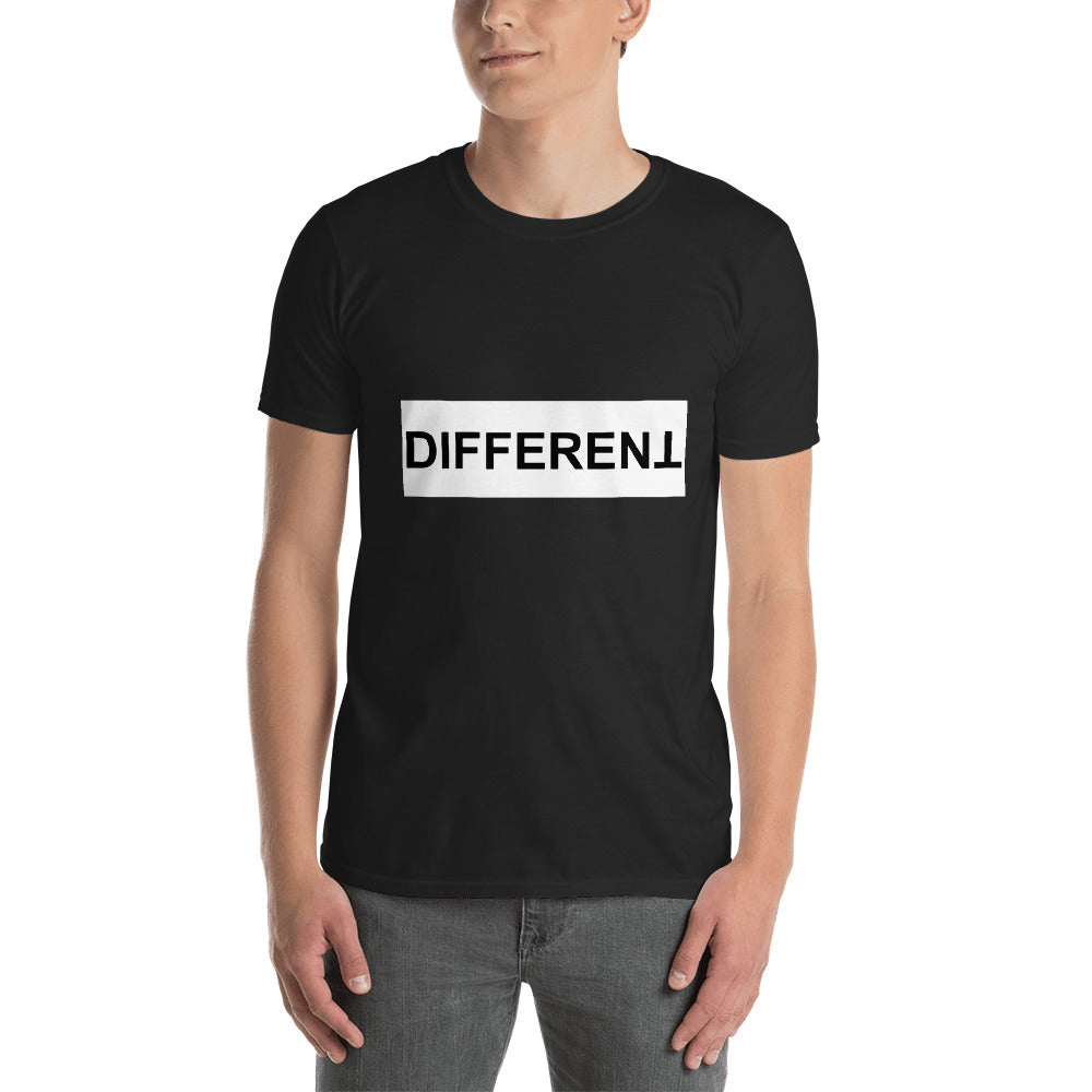 Different Short-Sleeve Unisex T-Shirt - TheVirasat - Home Furnishings Textile Exporter