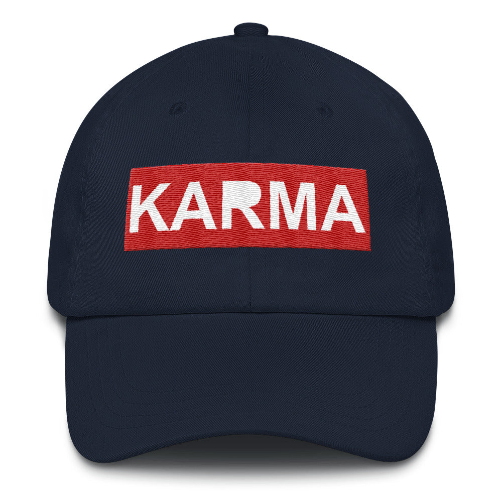 Buy Adjustable Karma Dad Hat Online - TheVirasat - Home Furnishings Textile Exporter