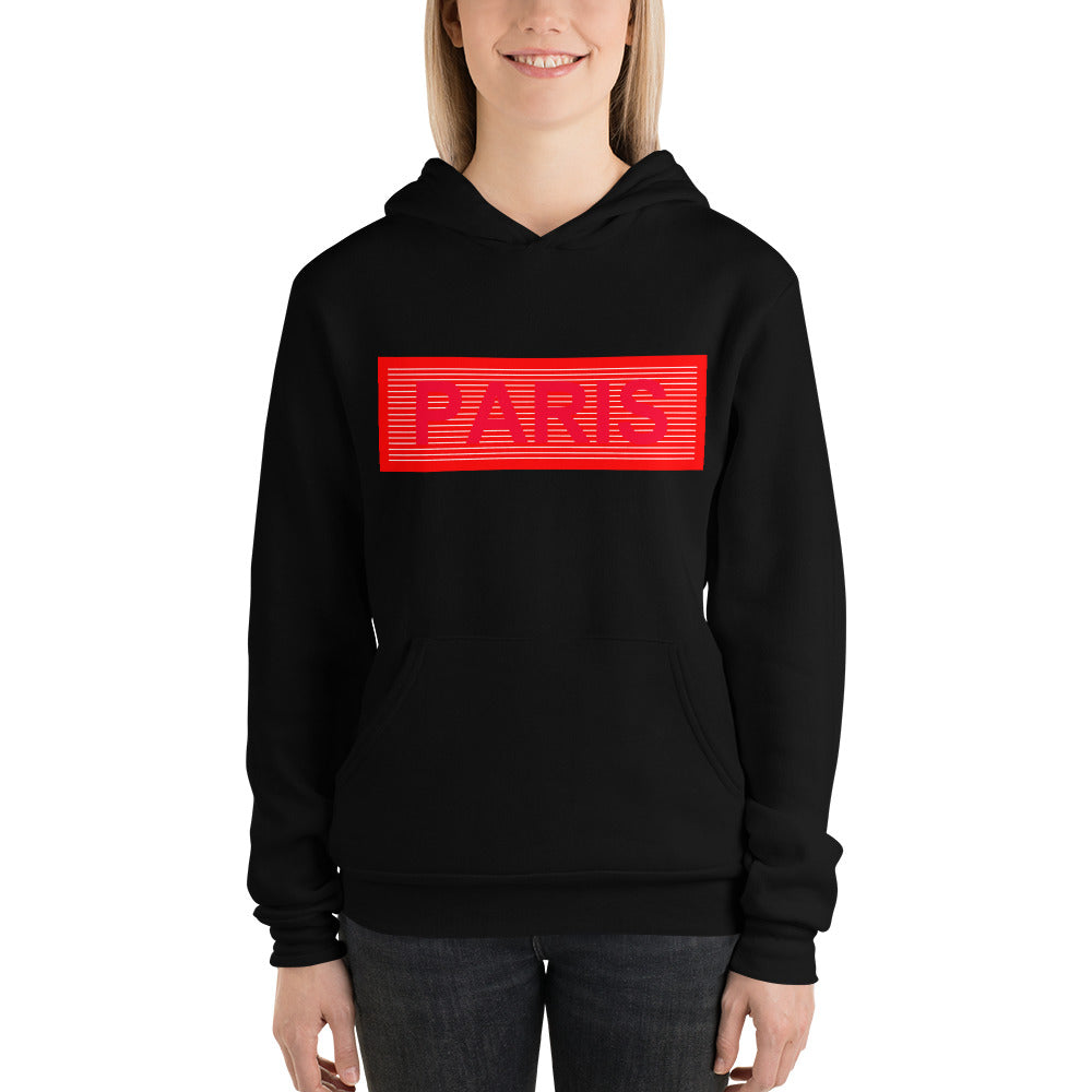 Paris Unisex hoodie | Super Comfortable hoodie - TheVirasat - Home Furnishings Textile Exporter