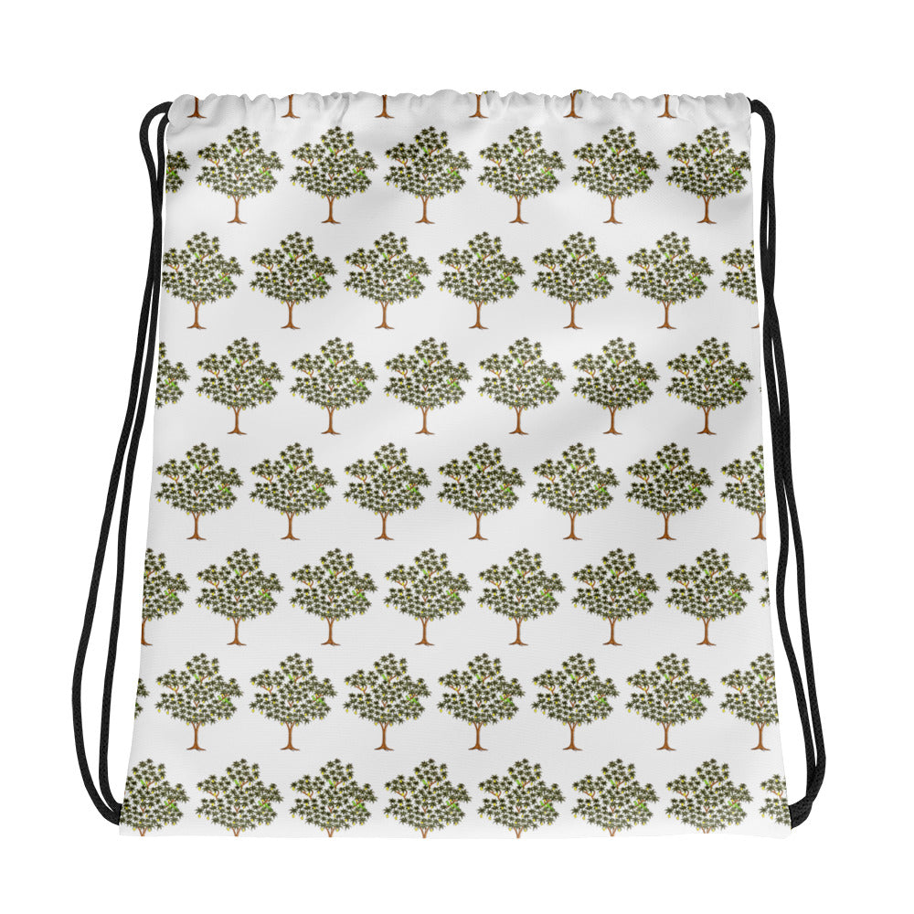 Tree Drawstring bag