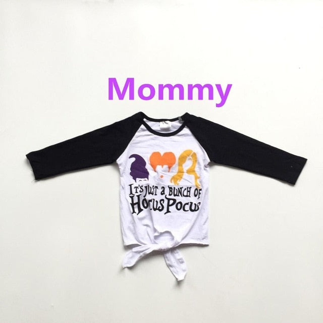 Mommy and baby girls clothes girls fall raglans baby kids white ragalns with long black sleeve mommy me lovely shirts
