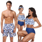Beach Bath Swimsuits Family Look