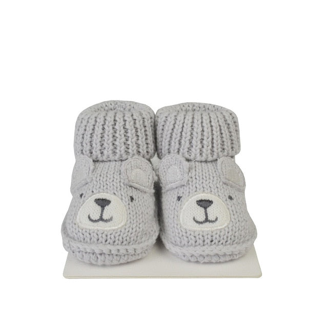 Lion Bear infant Baby foot socks for babies 0-3 months newborns shoes for girls boys cotton animal cartoon Comfortable shoe baby