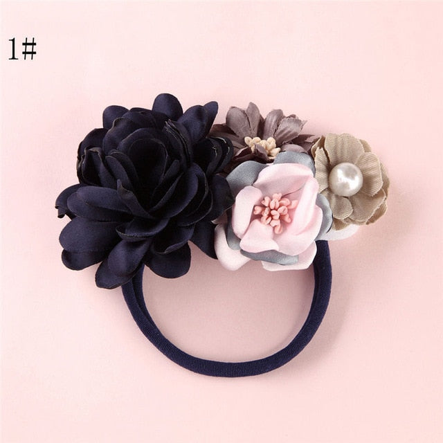 BalleenShiny Fashion Florals Headband Newborn Baby