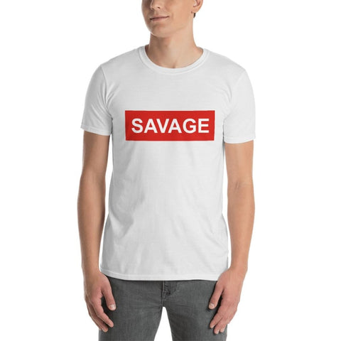Savage Short-Sleeve Unisex T-Shirt - Printed - TheVirasat - Home Furnishings Textile Exporter