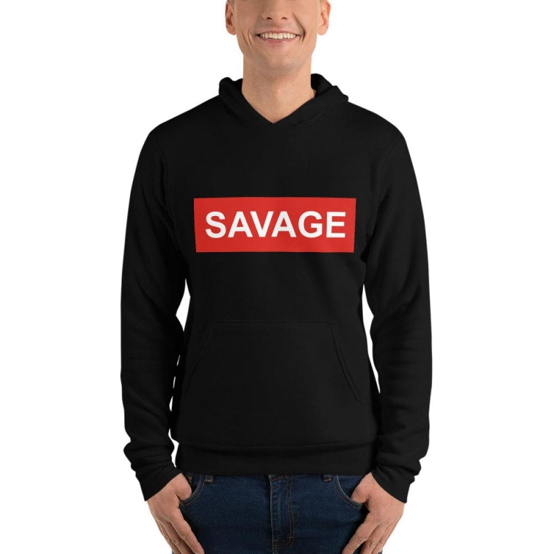 Savage Unisex Printed Hoodie | Super Soft hoodie - TheVirasat - Home Furnishings Textile Exporter