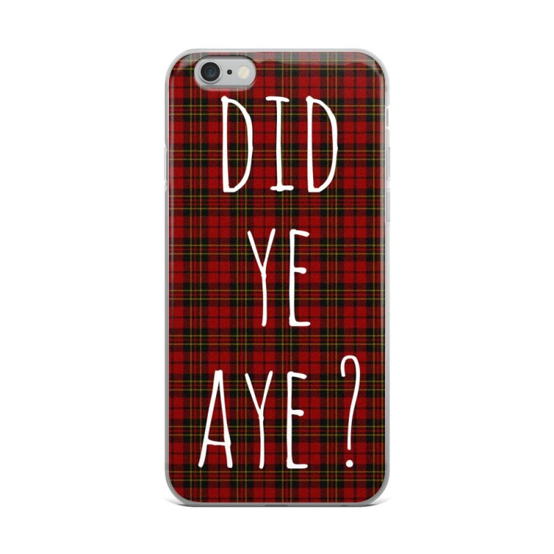 Scottish iPhone Case