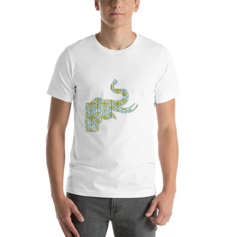Short-Sleeve Unisex T-Shirt Elephant - Printed