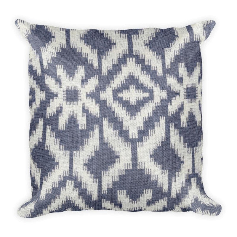 Suzani Print Square Pillow - Printed