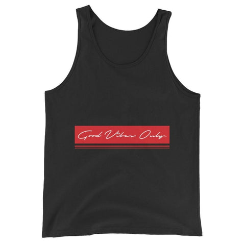 Unisex Tank Top, Good vibes only - TheVirasat - Home Furnishings Textile Exporter