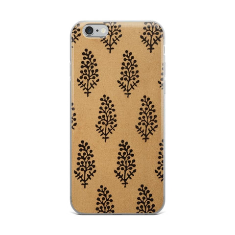 Vintage Print iPhone Case